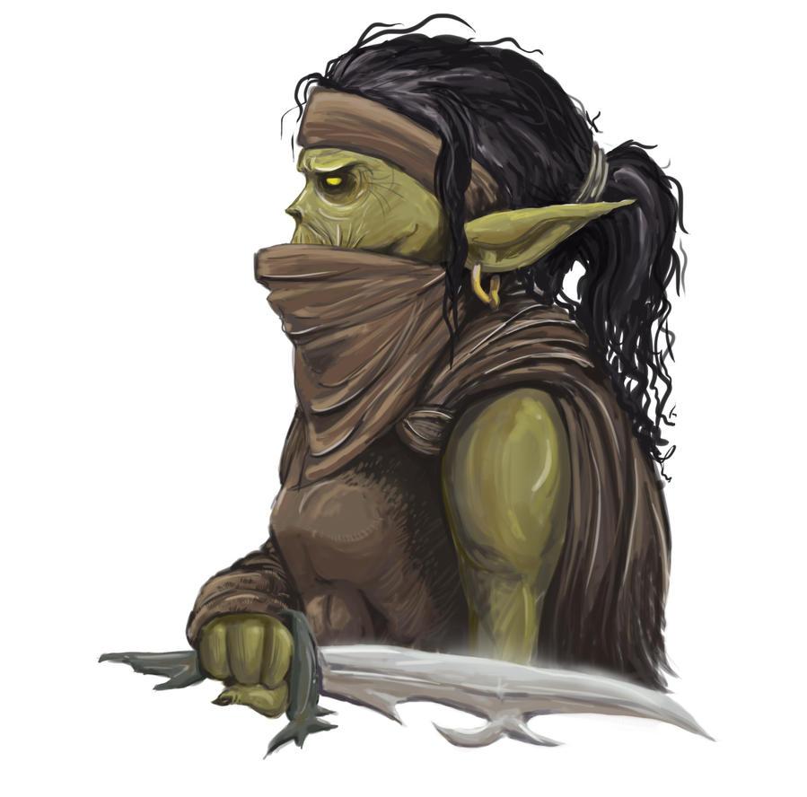 Goblin Assassin by melihyilmaz