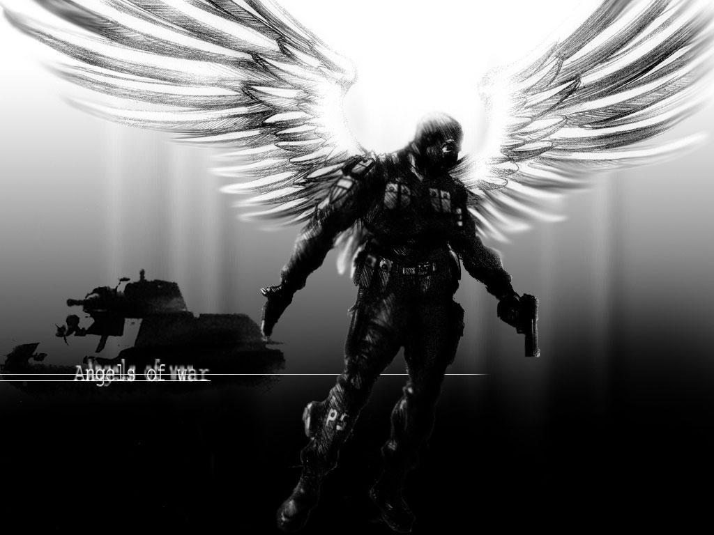 Angel Of War Wallpaper