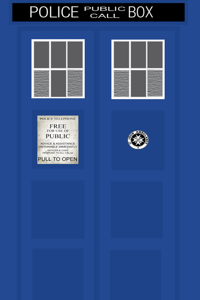 tardis doors iphone 4 by thedoctorlaughs on deviantart
