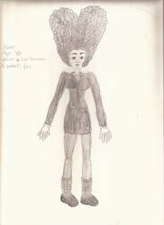 New unnamed OC- Evil Witch by GiantessUniverse