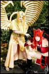 Saint Dragon Raa + Osiris YGO