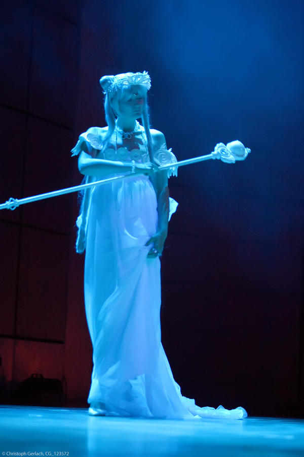 Neo Queen Serenity (on stage) by Shizuku-Seijaku