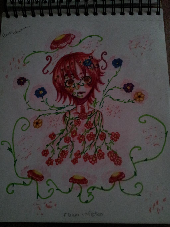 Flower Infection by XXILOVEAKATSUKIXX