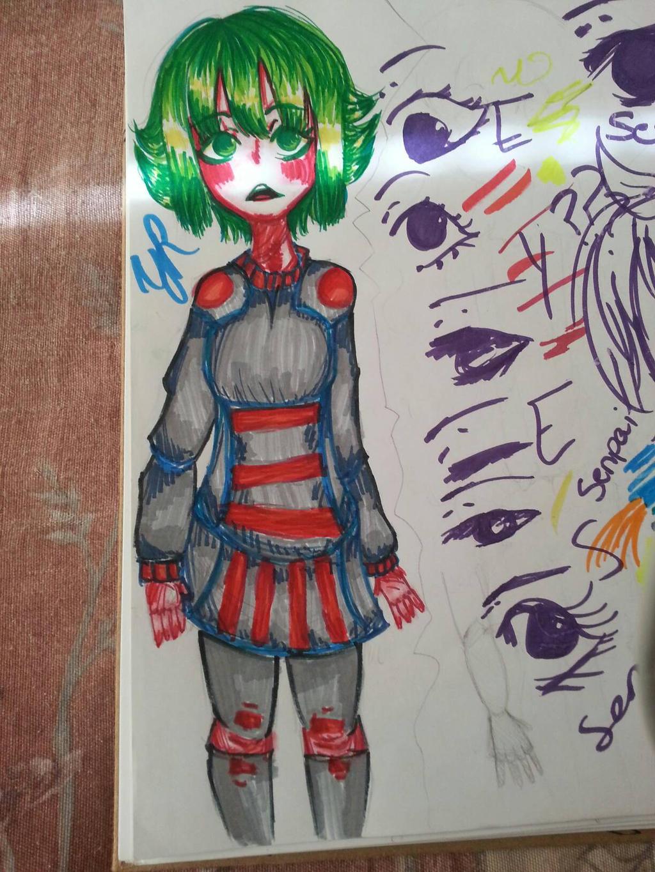 character design idea by XXILOVEAKATSUKIXX