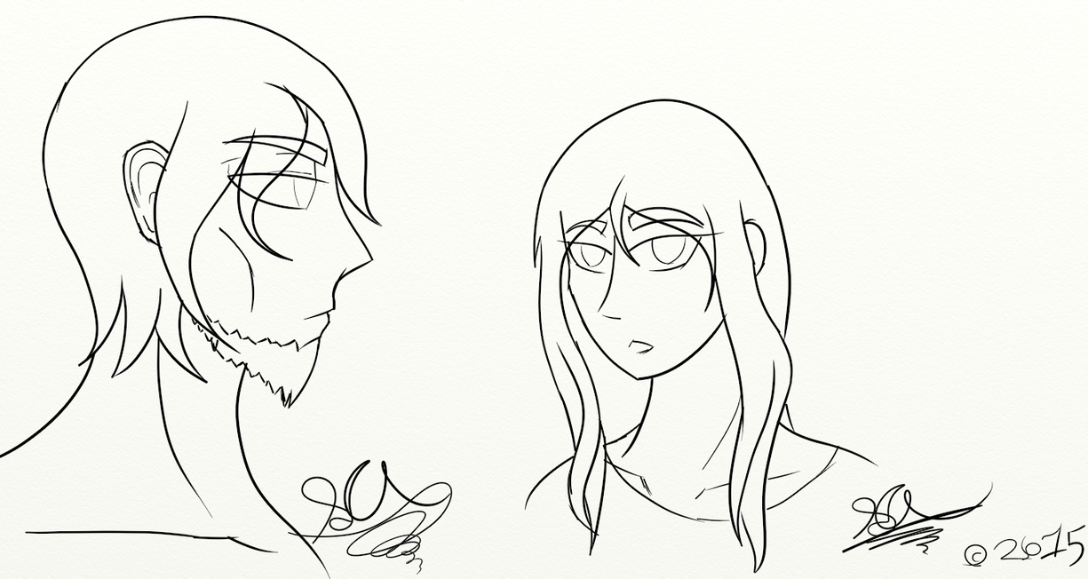 Character WIP's by ToaNova