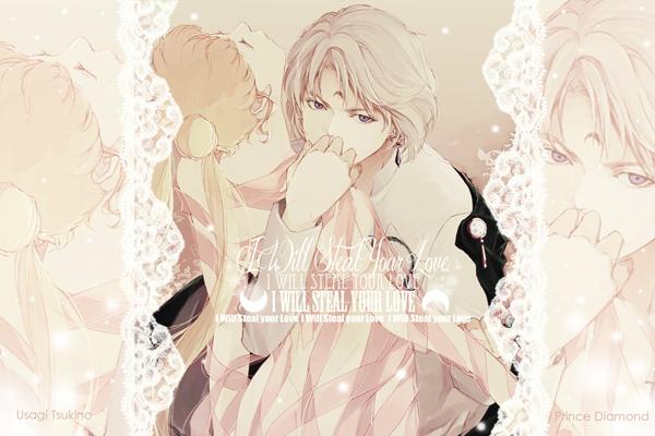 Usagi and Diamond Graphic by SHINOKAZI09