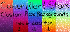 Colour Blend Stars F2U Custom Box Backgrounds