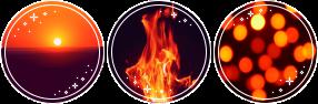 Dark Orange Aesthetic Deco (F2U) by Galactic-Fire on DeviantArt