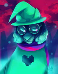 Ralsei by Galactic-Fire