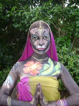 Indian Panther Bride