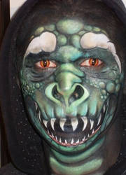 Face Paint - My Dragon