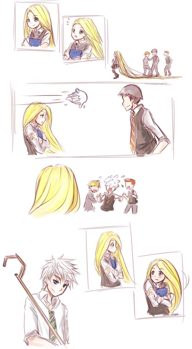 Jackunzel : Bullies by Nerah-chan