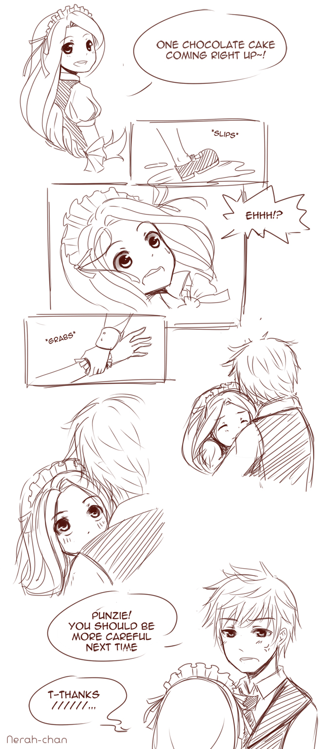 Jackunzel : Slip by Nerah-chan