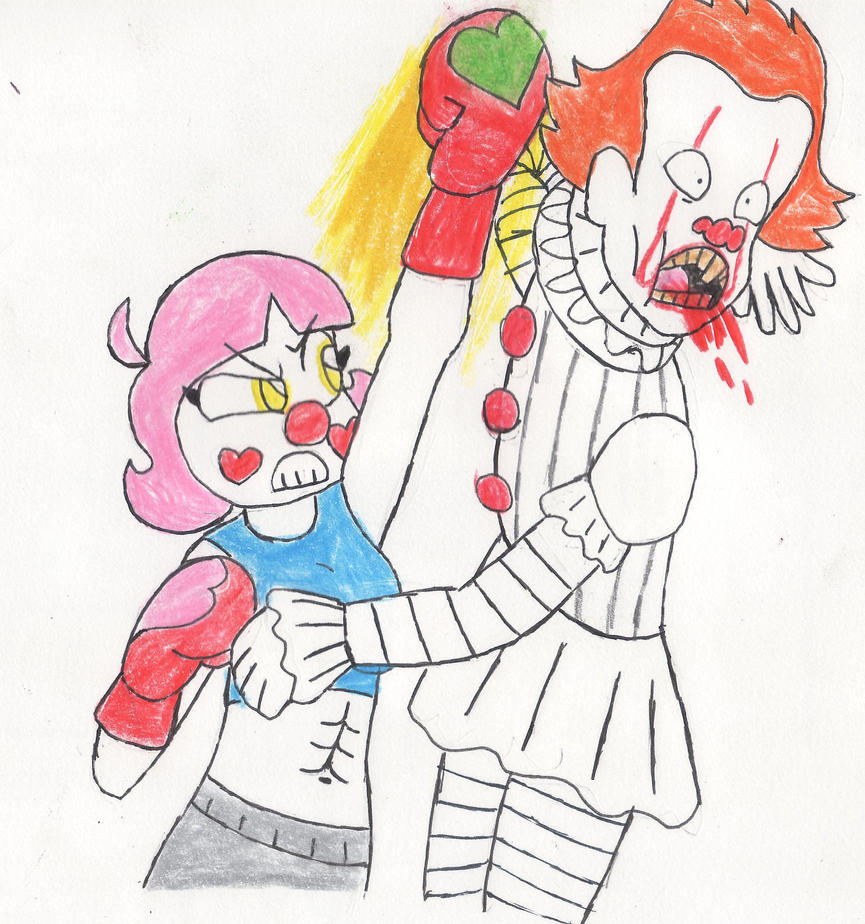 Charisma Cosmic PennyWise PUNCH by RacketFewl