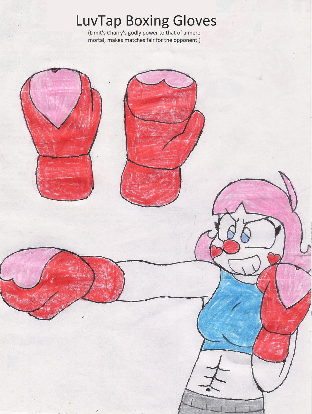 LuvTap Boxing Gloves by RacketFewl