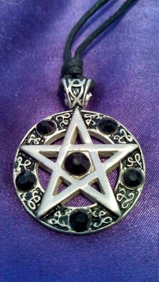 My Pentagram Necklace by FlameWhispers