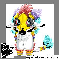 Pixel Zhiibe Chibi by Zhiibe