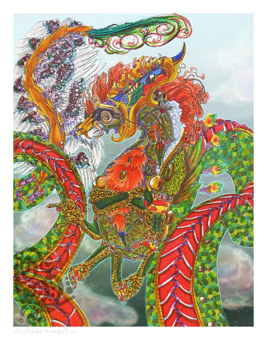 Sky Dragon Gainus by Zhiibe