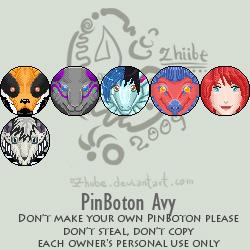 PinBoton Avy by Zhiibe