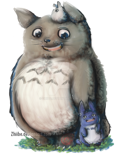 Totoro by Zhiibe