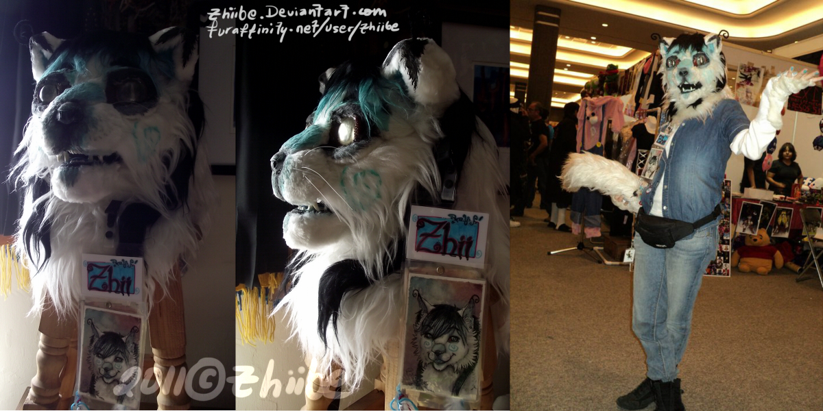 Tac.Zhii Partial Fursuit by Zhiibe