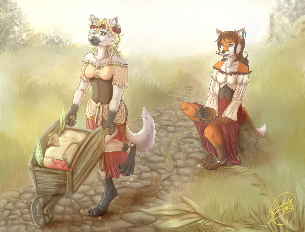 let's take a little rest please by Zhiibe