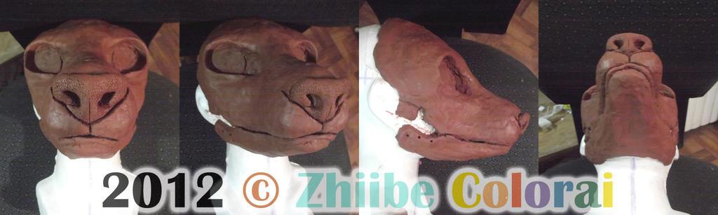 Sculpt base Canine/Feline hybrid by Zhiibe