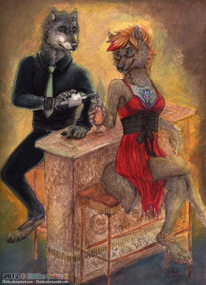 Matt and Fleki by Zhiibe