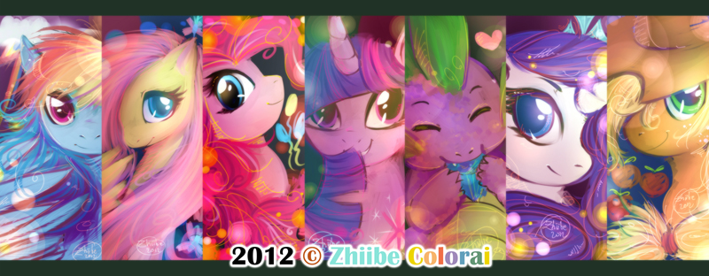 MLP Bookmarks by Zhiibe