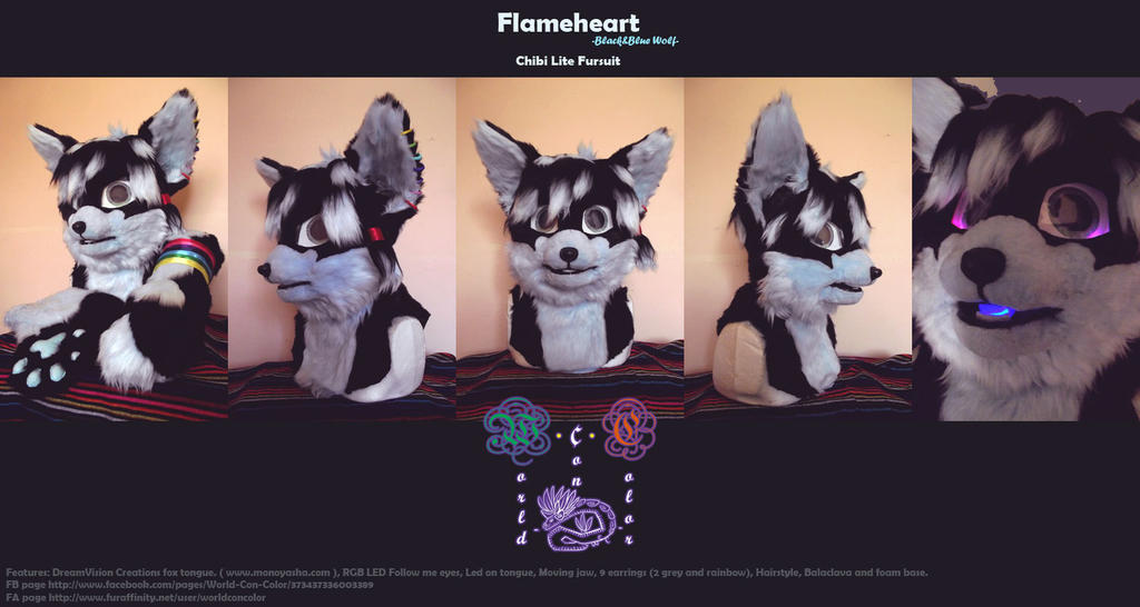Flameheart Chibi Suit [VIDEO] by Zhiibe
