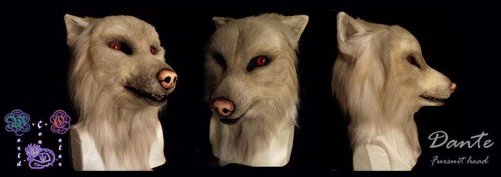 Dante fursuit head by Zhiibe
