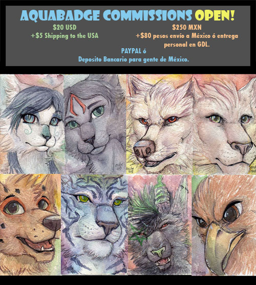 AquaBadges Commissions - Open for limited time!!! by Zhiibe
