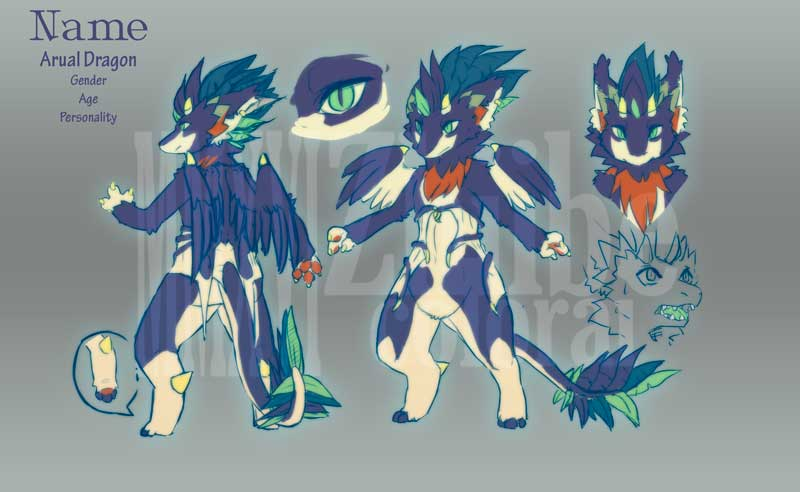 Arual Adoptable CLOSED by Zhiibe