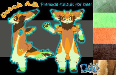 Dutch Angel Dragon Premade fullsuit for sale!