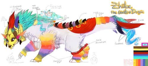 Zhiibe, the Skelltro Dragon