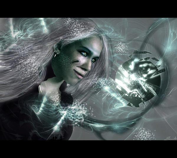 Cosmic Rebirth  by hybridgothica
