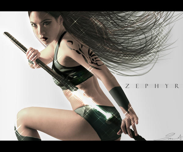 Zephyr. by hybridgothica