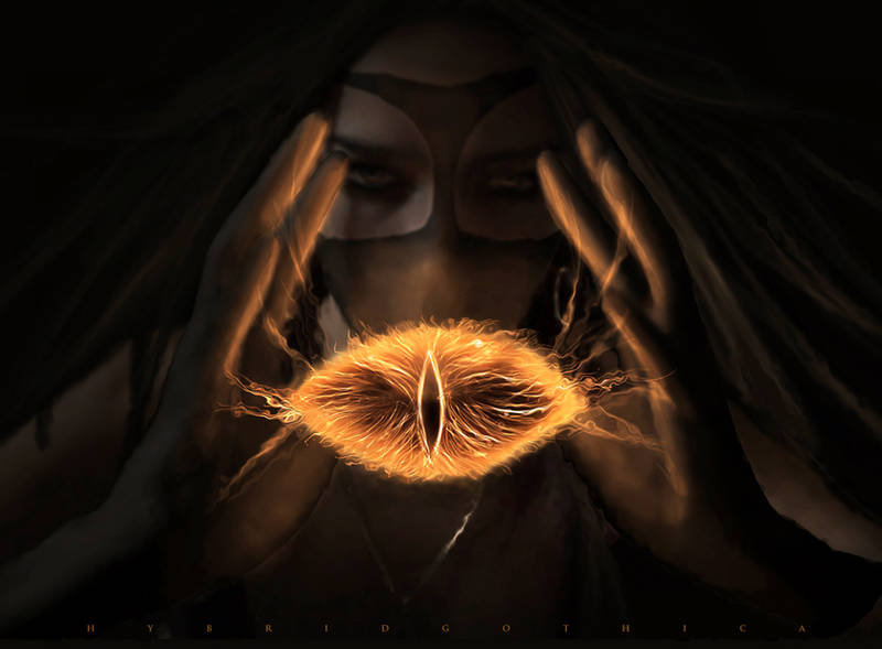 Sauron. by hybridgothica