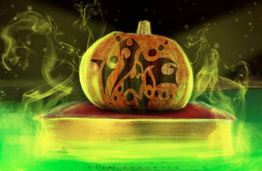 Witches Pumpkiness. by hybridgothica