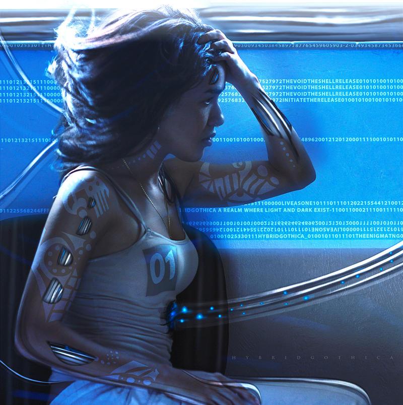 hybridgothica  cyberpunk