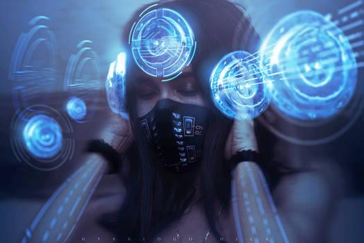 Cosmic Treble. by hybridgothica