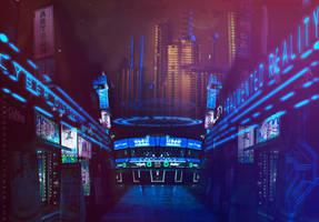 CyberFunk Synthetic Inn. by hybridgothica