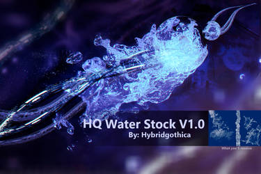 HQ Water Stock V1.0 by hybridgothica
