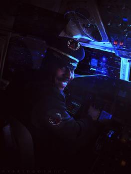 Space Captain Adib.