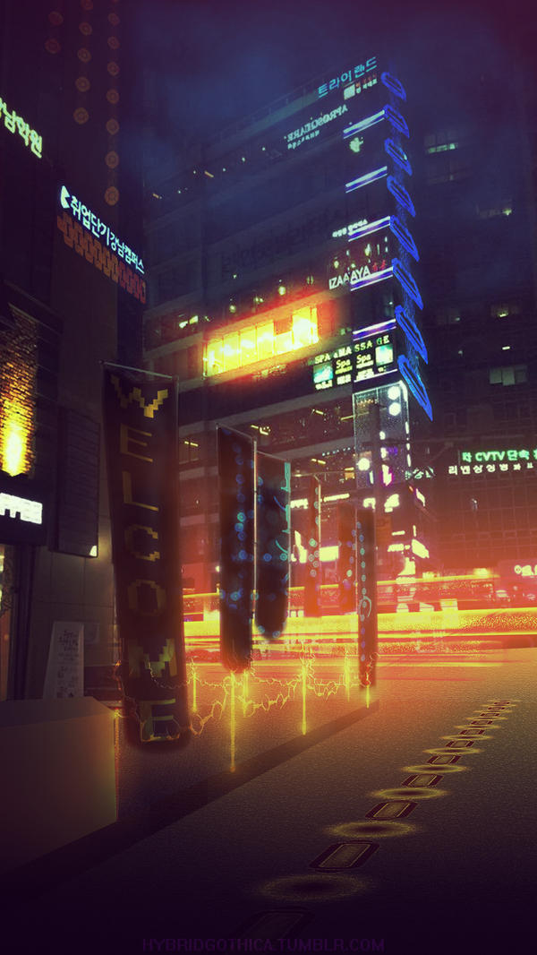 City of Chains. by hybridgothica