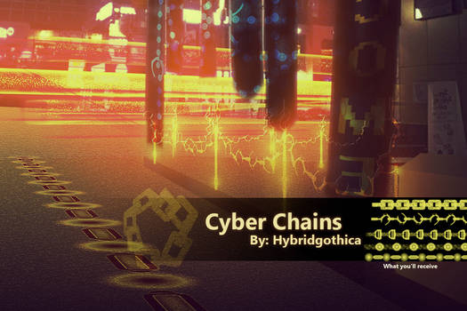 Cyber Chains By Hybridgothica.