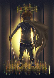 Galactic Ninja of Neo-Nubia. by hybridgothica
