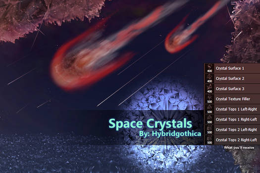 Space Crystals Brushes By Hybridgothica.