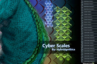 Cyber Scales By Hybridgothica. by hybridgothica