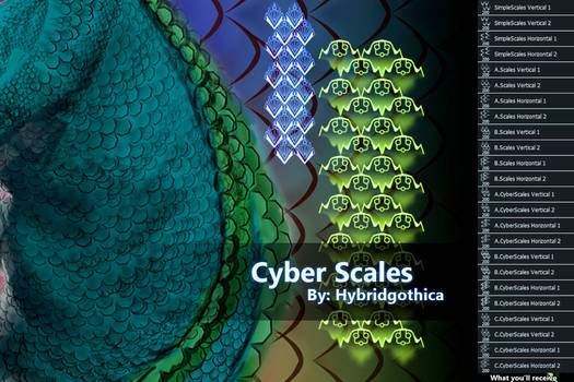 Cyber Scales By Hybridgothica.